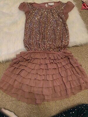Girls Christmas Party Dress NEXT age 13