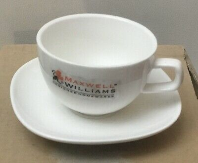Maxwell Williams Demi Cup & Saucer Set X8 Cups & Saucers