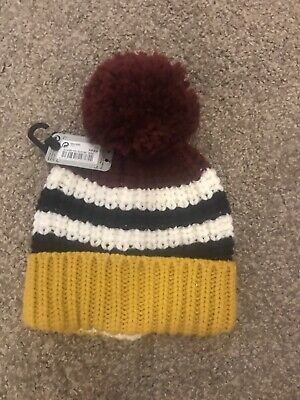 Boys Next Winter Bobble Hat Age 5-6 Years
