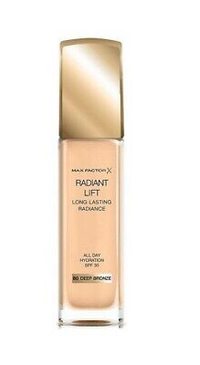 Max Factor Radiant Lift Long Lasting Radiance Foundation SPF30 (80) Deep Bronze