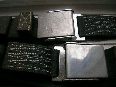 Nos 1958-1962 Corvette Seatbelt Buckles 2458810