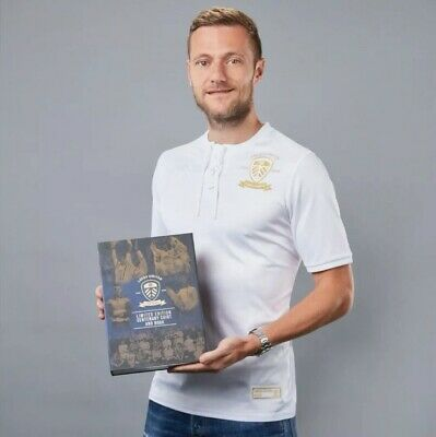 Number (0989) Leeds United Centenary Shirt and Book