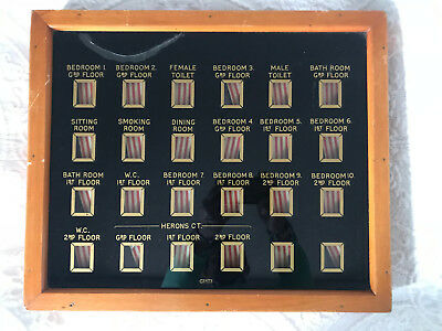 Butlers Servants Bell Box Indicator Gents Of Leicester