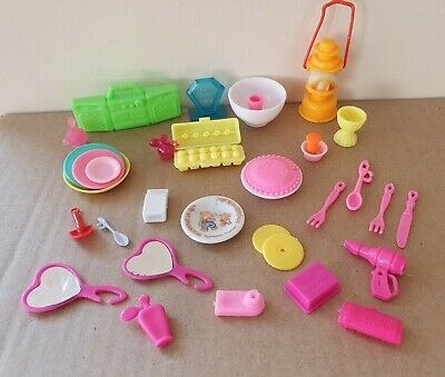 32 ITEMS FOR BARBIE, KITCHEN ITEMS etc. LOADS  OF BITS, SAME DAY 1st CLASS POST
