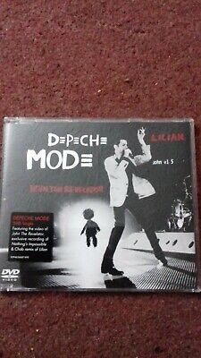 Depeche Mode John the Revelator/Lilian UK DVD single DVDBONG38 Like new
