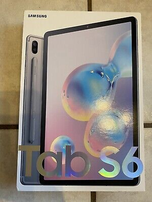 Samsung Galaxy Tab S6 128GB, Wi-Fi, 10.5 in - Mountain Gray Brand New Sealed!