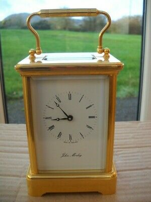 Stunning Large John Morley Carriage Clock In G.w.o.