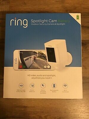 Ring Spotlight Cam Battery - Outdoor Security Camera & Spotlight