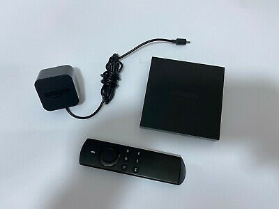 Amazon Fire TV Box 4K Ultra HD DV83YW 2nd generation with Voice Remote