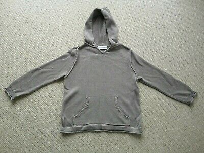 Immaculate Worn Twice Little White Company Boys Cotton Jumper Hoody Age 9-10