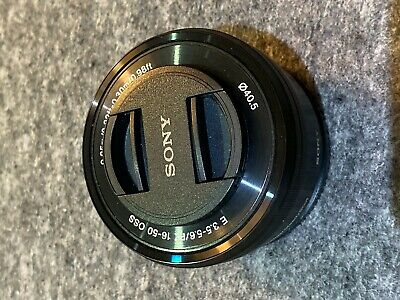Sony SEL 16-50mm f/3.5-5.6 PZ OSS Lens Good Condition APS-C