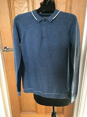 Marks and Spencer Autograph Boys Blue Jumper Size 8/9