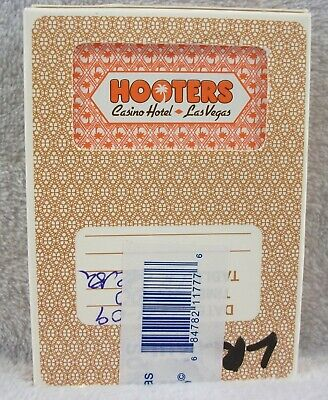 Vtg Hooters Hotel Casino Las Vegas Nevada deck of sealed playing cards
