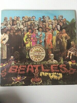 THE BEATLES SGT PEPPERS LONELY HEARTS CLUB BAND VINYL PMC 7027 1967 MONO. 1st PR