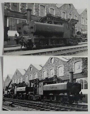 2 GWR Crane Tank Photos - Great Western Railway - Lot 888