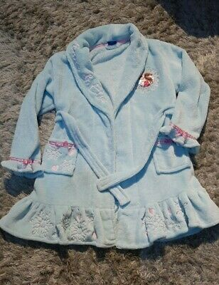 Girls disney Frozen Dressing Gown and pjs Age 5/6/7