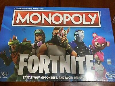 Monopoly Fortnite Edition New/SEALED Board Game Hasbro Gaming