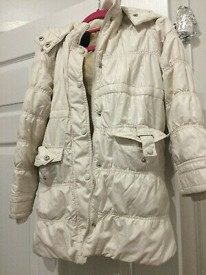 childrens cream jacket age 9 to 10 years  marks and spencers
