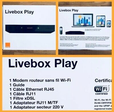 Livebox 3 Play Orange