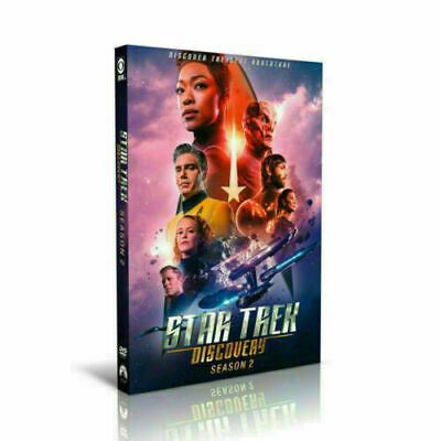 Star Trek Discovery: Complete SECOND Season 2  DVD 4-Disc (Sealed)Fast Shipping