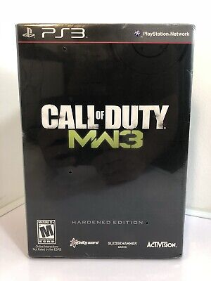 New/Sealed Call of Duty Modern Warfare 3 Hardened Edition Sony PlayStation 3 PS3