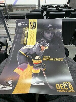 Vegas Golden Knights Vs Rangers 12/8/19 Gameday Poster