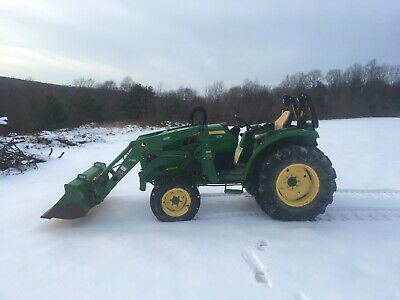 """John Deere 4052R Compact Utility Tractor W/ H180 73"""" Loader 560hrs"""