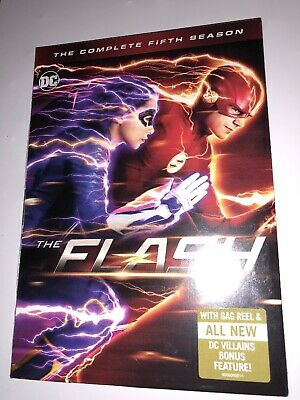 The Flash: The Complete Fifth Season 5 DVD 2019 Brand New Sealed Superhero DC