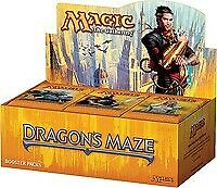 Dragon's Maze Booster Box - Factory Sealed - English - MTG Magic the Gathering