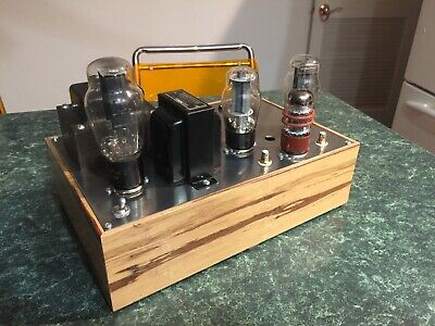 Single End Triode 6l6 6sn7 Stereo Tube Amp