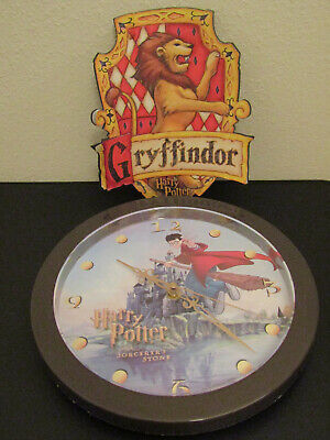 Harry Potter and the Sorcerer's Stone Quidditch Clock & Gryffindor Mousepad