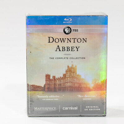 NEW PBS Downton Abbey: The Complete Collection (22 Disc Blu ray Set)