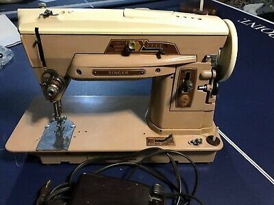 Vintage Singer Sewing Machine 403a, Fully Serviced Ready To Sew