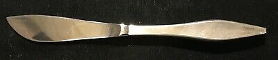 Sterling Silver Flatware - Reed And Barton Lark Master Butter Hollow Handle