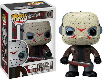 Pop Movies 3.75 Inch Action Figure Friday The 13th - Jason Voorhees #01