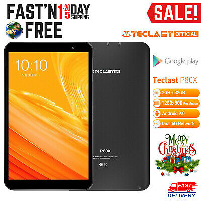 Teclast P80X 8'' 4G Phablet Tablet PC Android 9.0 Octa Core 2GB 32GB GPS Camera