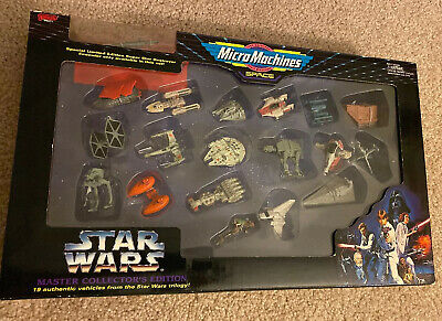 1994 Galoob Micro Machines Stars Wars Master Collector's Edition New Sealed