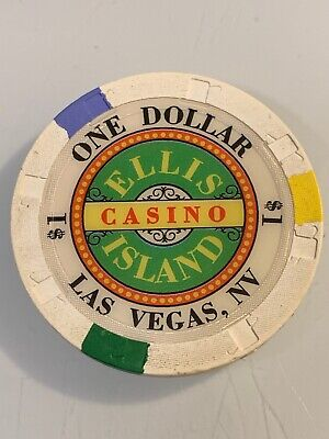 ELLIS ISLAND $1 Casino Chip Las Vegas Nevada 3.99 Shipping