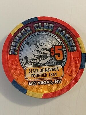 PIONEER CLUB $5 Casino Chip LAS VEGAS Nevada 3.99 Shipping