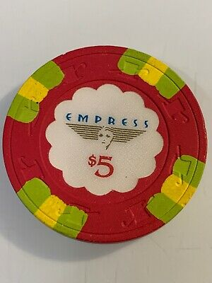 EMPRESS CASINO $5 Casino Chips JOLIET ILLINOIS 3.99 Shipping