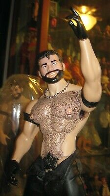 Tom Of Finland GAY Doll Figure 001 Rebel ~Collectible~ ~Action Figure~ Hairy!