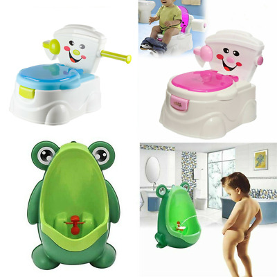 Kid Toilet Seat Baby Toddler Training Potty Trainer Safety Urinal Chair Girl Boy
