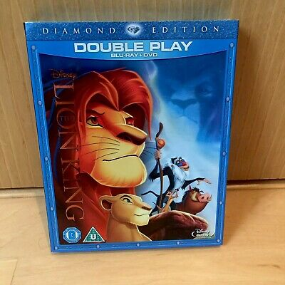 Disney The Lion King (Diamond Edition) [Blu-ray + DVD] vgc / in slipcase
