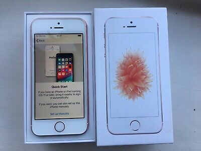 Apple iPhone SE - 32GB - Immaculate - Rose Gold (Unlocked) A1723 (CDMA + GSM)