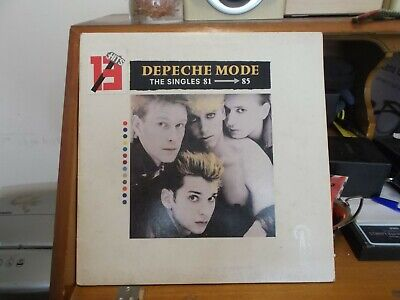 Depeche Mode - The Singles 81-85 vinyl LP