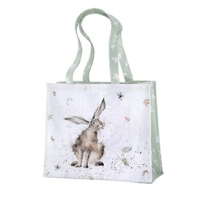 Bnwt - Lrg Wrendale Pvc Tote Shopping Bag. Hare Raising Design.