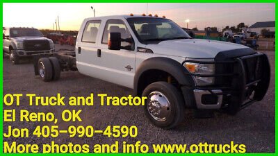 2012 Ford F-450 XL 2012 Ford F-450 2wd Crew Cab 200in Chassis 6.7L Diesel 84in CTA F450