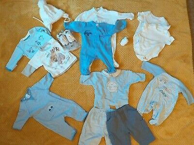 Bundle Newborn Up To 3 Months Baby Boys Clothes