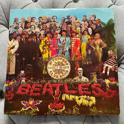 """Beatles """"Sgt Peppers Lonely Hearts Club Band"""" Super Rare Odeon Sleeved MONO"""