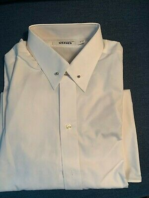 Brooks Brothers The Great Gatsby Collection Formal Shirt, White, 16-34, New